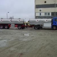 Anhänger- und Aufliegerfahrgestelle für Milchtankfahrzeuge